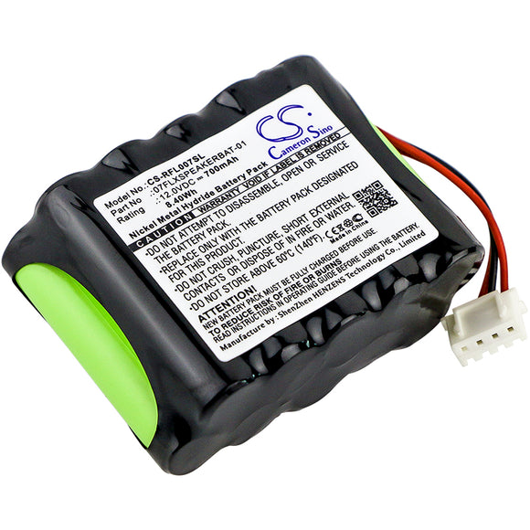 Battery for Revolabs FLX 07FLXSPEAKERBAT-01 12V Ni-MH 700mAh / 8.40Wh