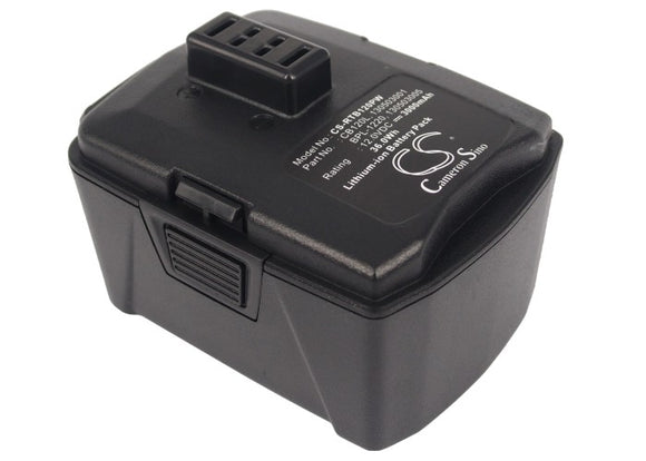 Battery for AEG BS12CA 130503001, 130503005, BPL-1220, CB120L, L1212R 12V Li-ion