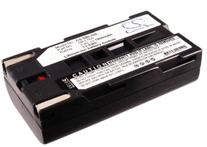Battery for Samsung VP-W90 SB-L110A, SB-L160, SB-L320 7.4V Li-ion 1850mAh / 13.6
