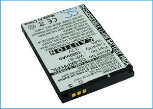 Battery for 3 Skype Phone WP-S1 WP-S1 3.7V Li-ion 1000mAh