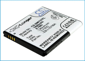 Battery for AT&T Galaxy S 2 Skyrocket 4G EB-L1D7IBA 3.7V Li-ion 1800mAh / 6.66Wh