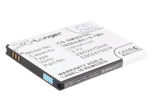 Battery for AT&T SGH-i937 EB524759VA, EB524759VABSTD, EB524759VK, EB524759VKBSTF