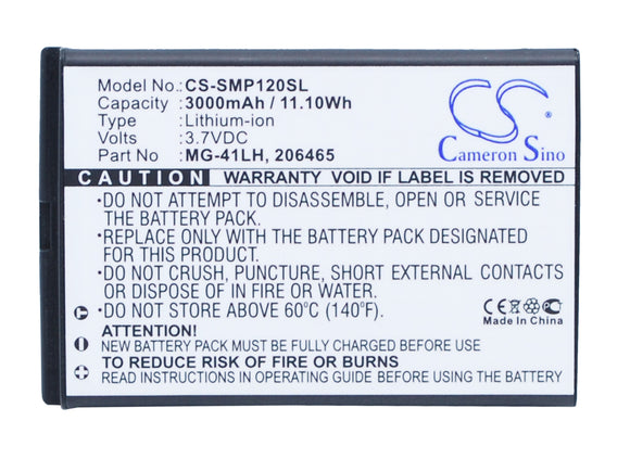 Battery for Hemisphere XF1 3.7V Li-ion 3000mAh / 11.10Wh