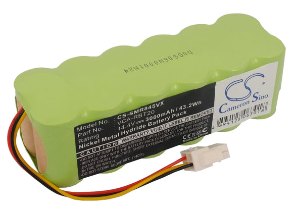 Battery for Toshiba Smarbo VC-RB100 DJ96-00113F, RB1-P 14.4V Ni-MH 3000mAh / 43.