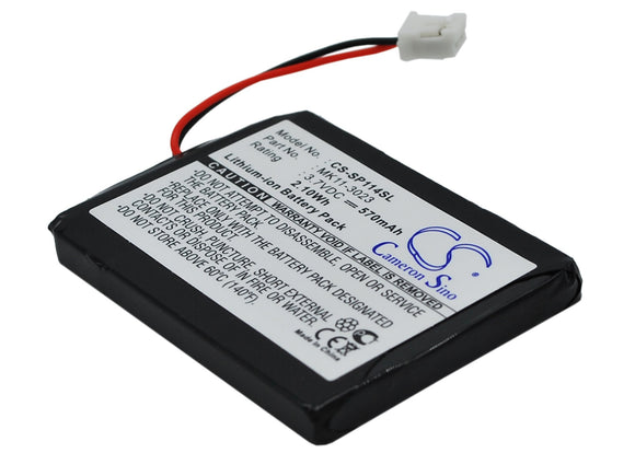 Battery for Sony PS3 Wireless Qwerty Keypad MK11-2902, MK11-2903, MK11-3023 3.7V