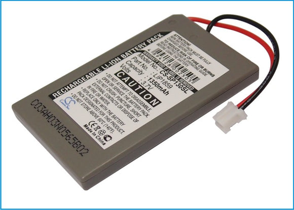 Battery for Sony PS3 LIP1472, LIP1859 3.7V Li-ion 650mAh / 2.41Wh