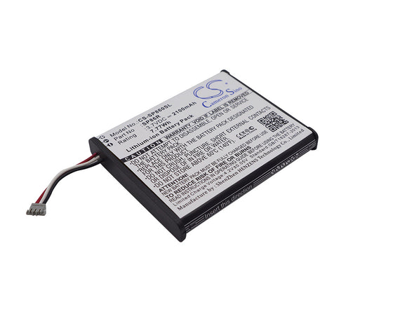 Battery for Sony PS Vita 2007 4-451-971-01, SP86R 3.7V Li-ion 2100mAh / 7.77Wh
