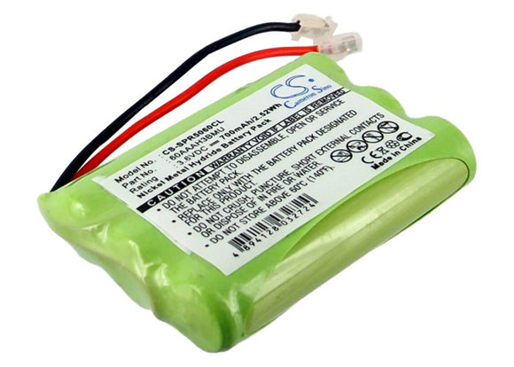 Battery for Audioline DECT 1000 60AAAH3BMU 3.6V Ni-MH 700mAh / 2.52Wh