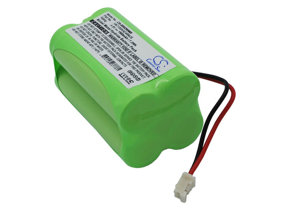 Battery for Summer Infant 02720 02100A-10, HK1100AAE4BMJS 4.8V Ni-MH 1500mAh / 7
