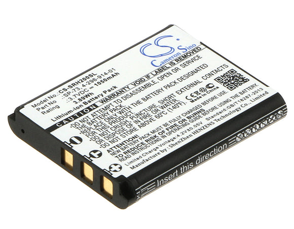 Battery for Sony WH-1000XM2 4-296-914-01, SP73, SP-73 3.7V Li-ion 1050mAh / 3.89