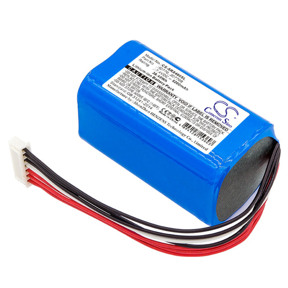 Battery for Sony SRS-XB40 ID770, JD770B 7.4V Li-ion 5200mAh / 38.48Wh