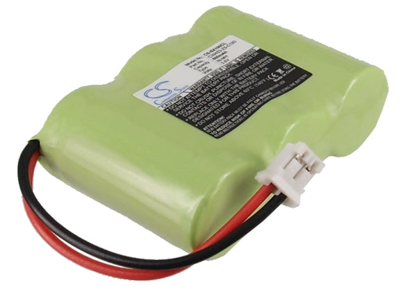 Battery for Alcatel Eole 200 C39453-Z5-C193, HSC22 3.6V Ni-MH 600mAh / 2.16Wh