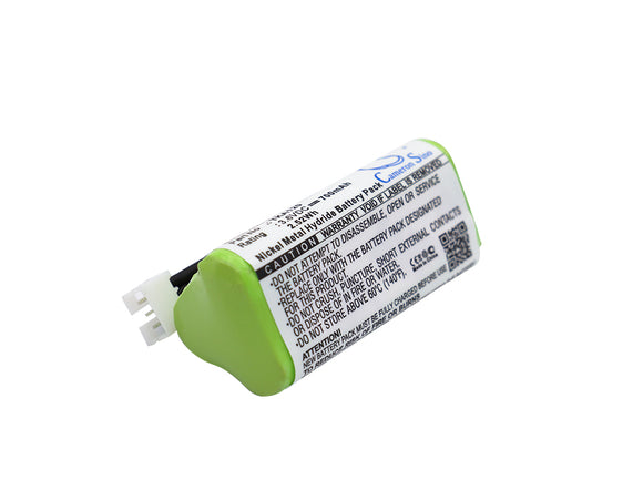 Battery for TDK Life On Record A12 3.6V Ni-MH 700mAh / 2.52Wh