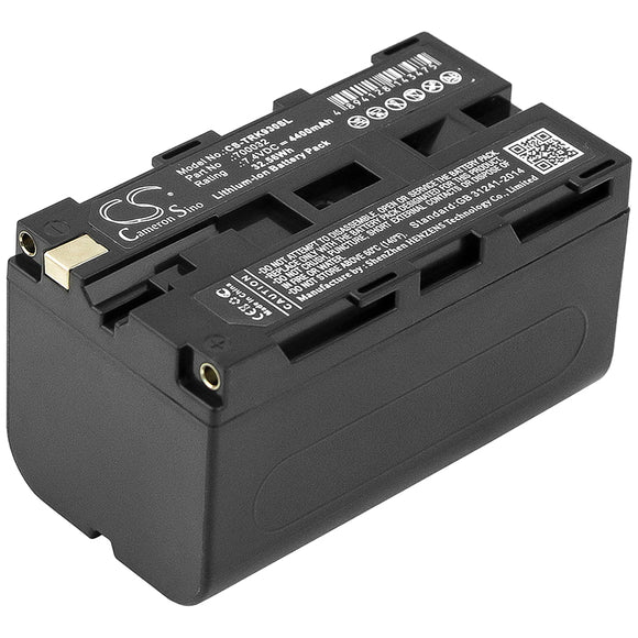 Battery for TSI 8532 700032 7.4V Li-ion 4400mAh / 32.56Wh