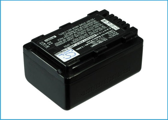 Battery for Panasonic HDC-TM99 VW-VBK180, VW-VBK180E-K, VW-VBK180-K 3.7V Li-ion