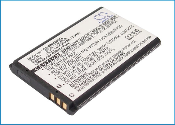 Battery for Maas CP-228-EU CB-28 3.7V Li-ion 1050mAh / 3.89Wh
