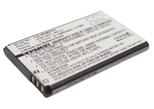 Battery for Adaptec BT74R HXE-W01 3.7V Li-ion 1000mAh / 3.70Wh