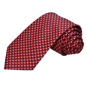 CURRANT RED COTTON TIE