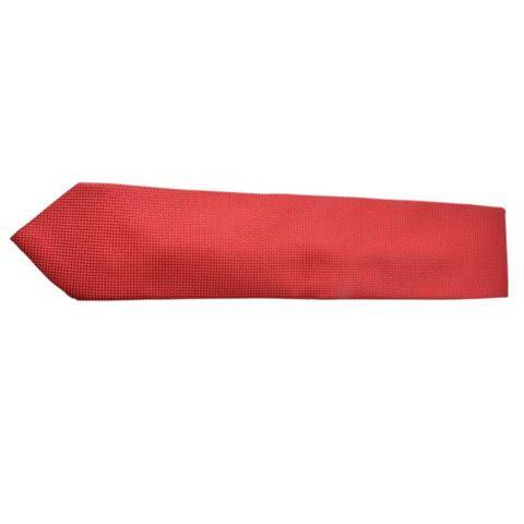 CHERRY RED SOLID FORMAL TIE