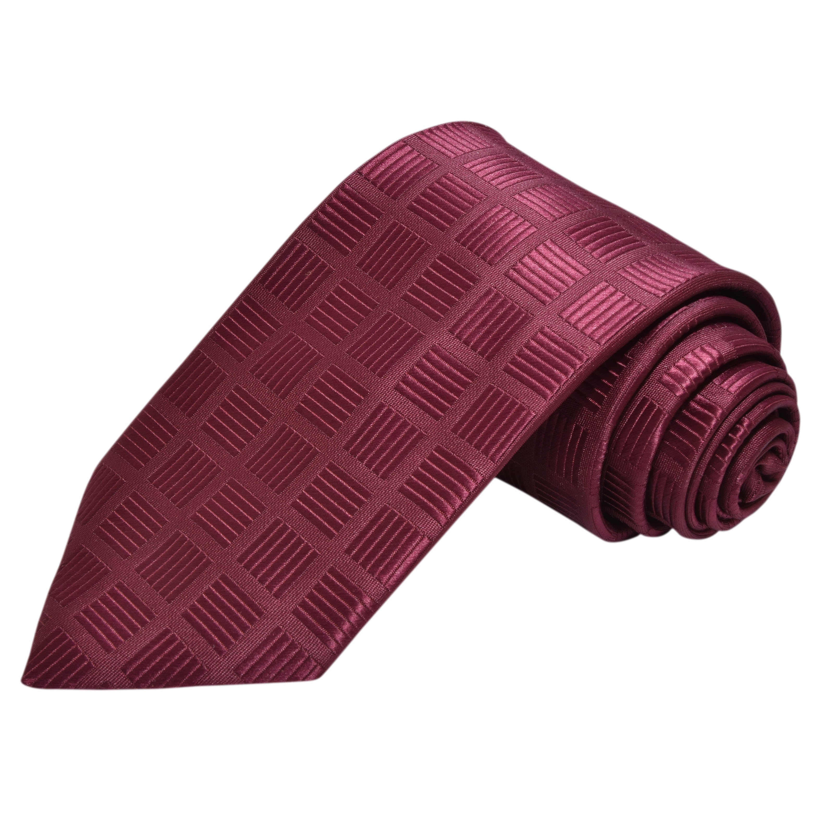 SANGRIA SQUARE STRIPE PATTERN TIE