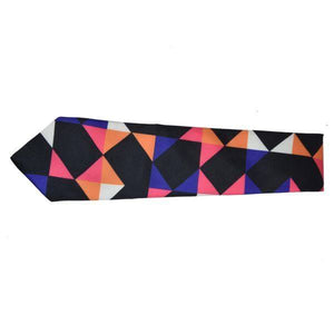 COLOURFUL TILE PATCHWORK TIE