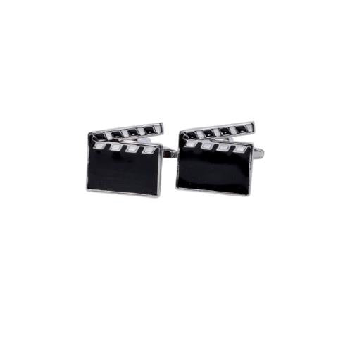 MOVIE CUT DESIGNER CUFFLINKS
