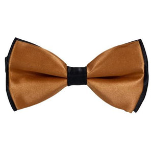 COTTON SUMMER GOLDEN BOW TIE