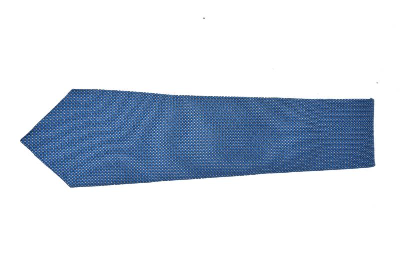 SKY BLUE SOLID COTTON TIE