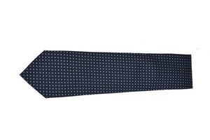 NAVY BLUE TINY DOTS TIE
