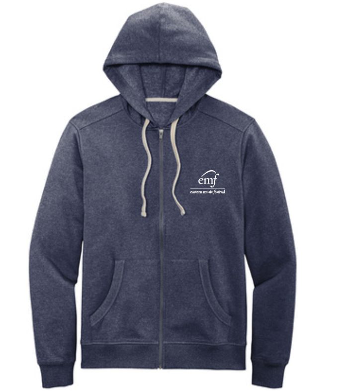 EMF Unisex Zip-Up Fleece Hoodie <BR>