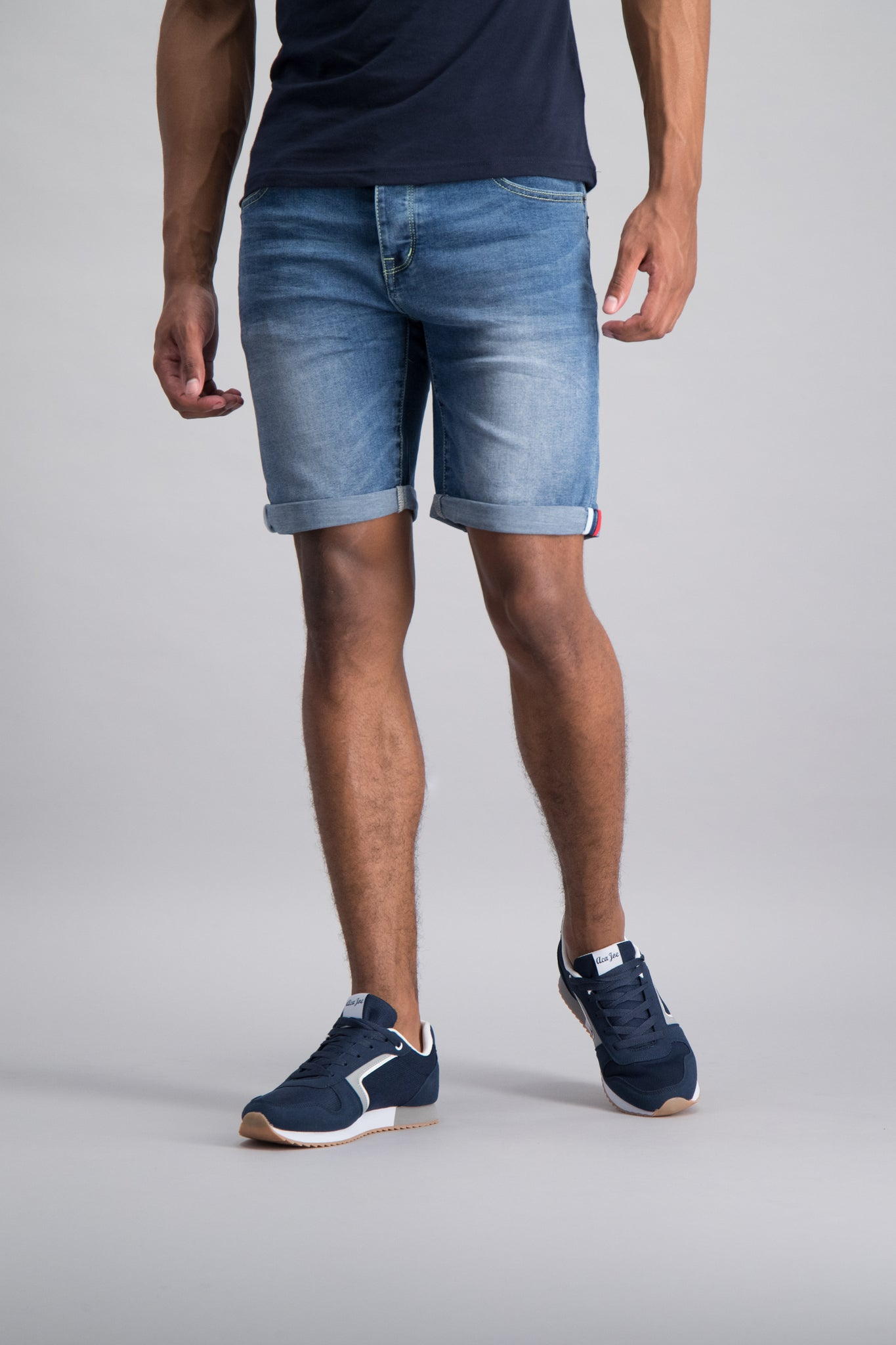 Styled Denim Shorts