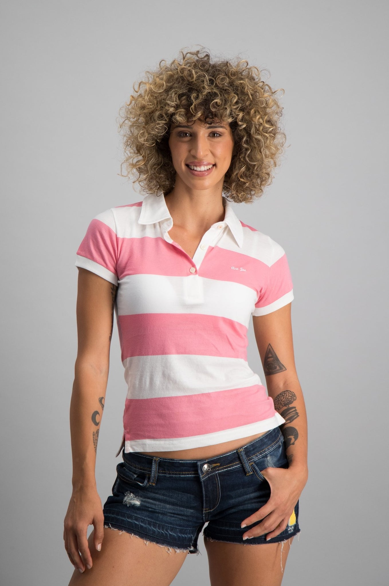 Heritage Striped Lightweight Golf Shirt