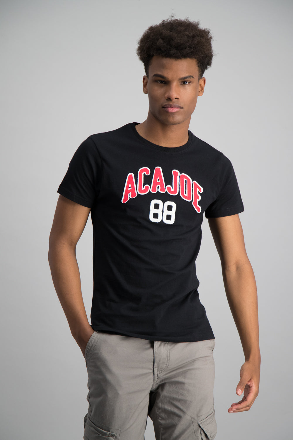 College Crew Neck T-Shirt