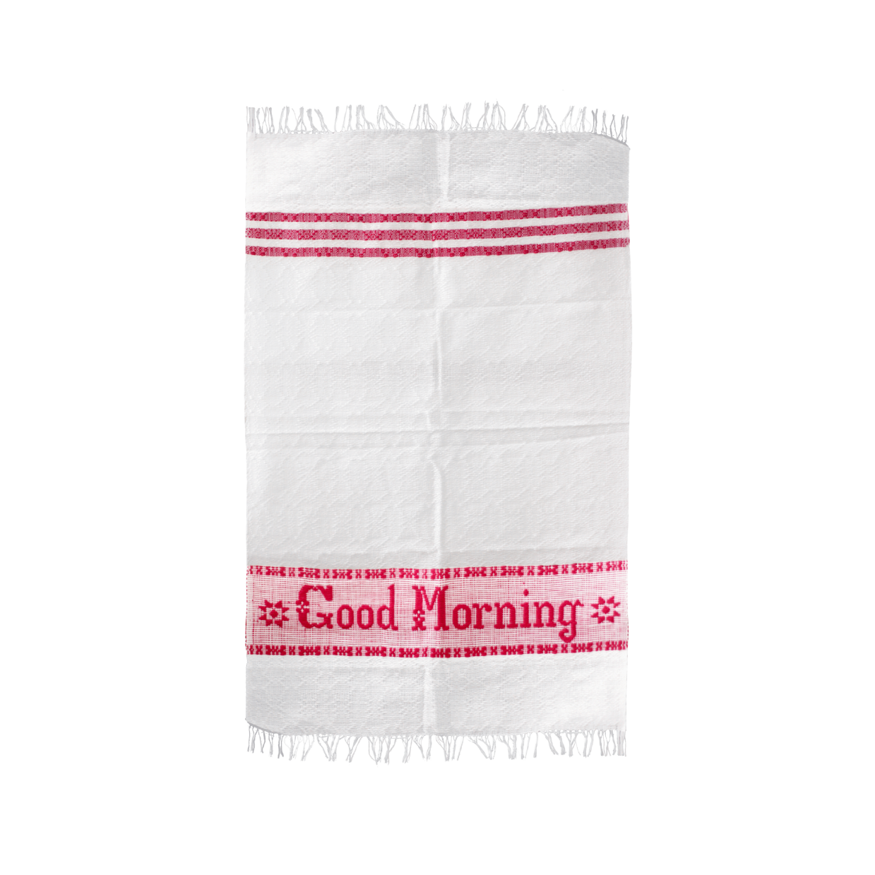 Locano Good Morning Towel Red