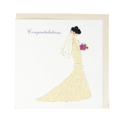 Bridal Congratulations Card