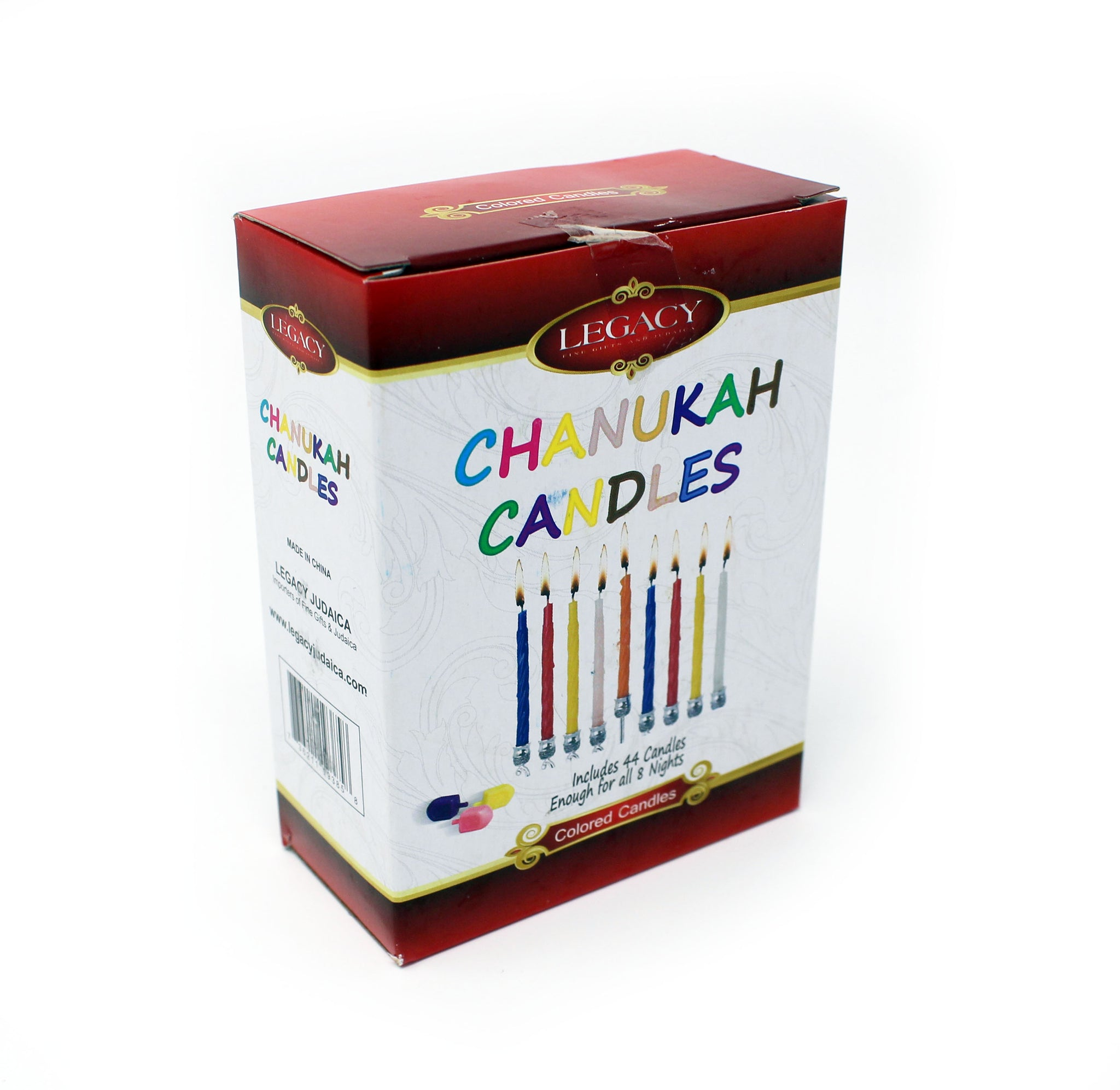 Legacy Chanukah Candles