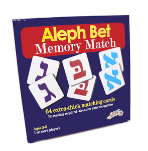 Aleph Bet Memory Match