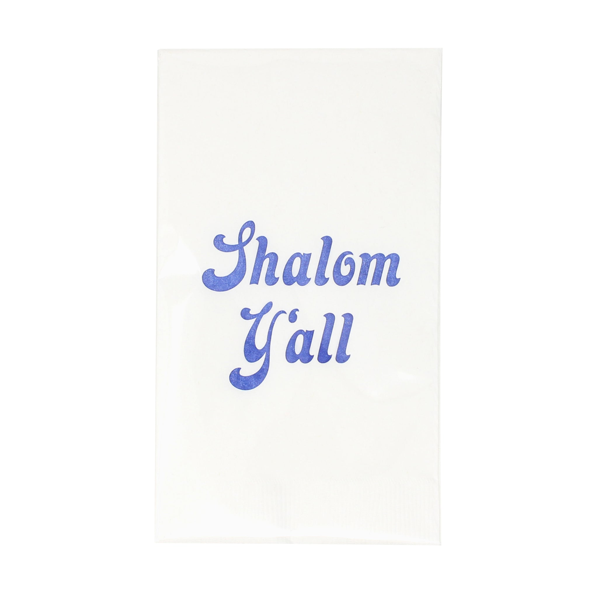 Shalom Y'all Guest Towels