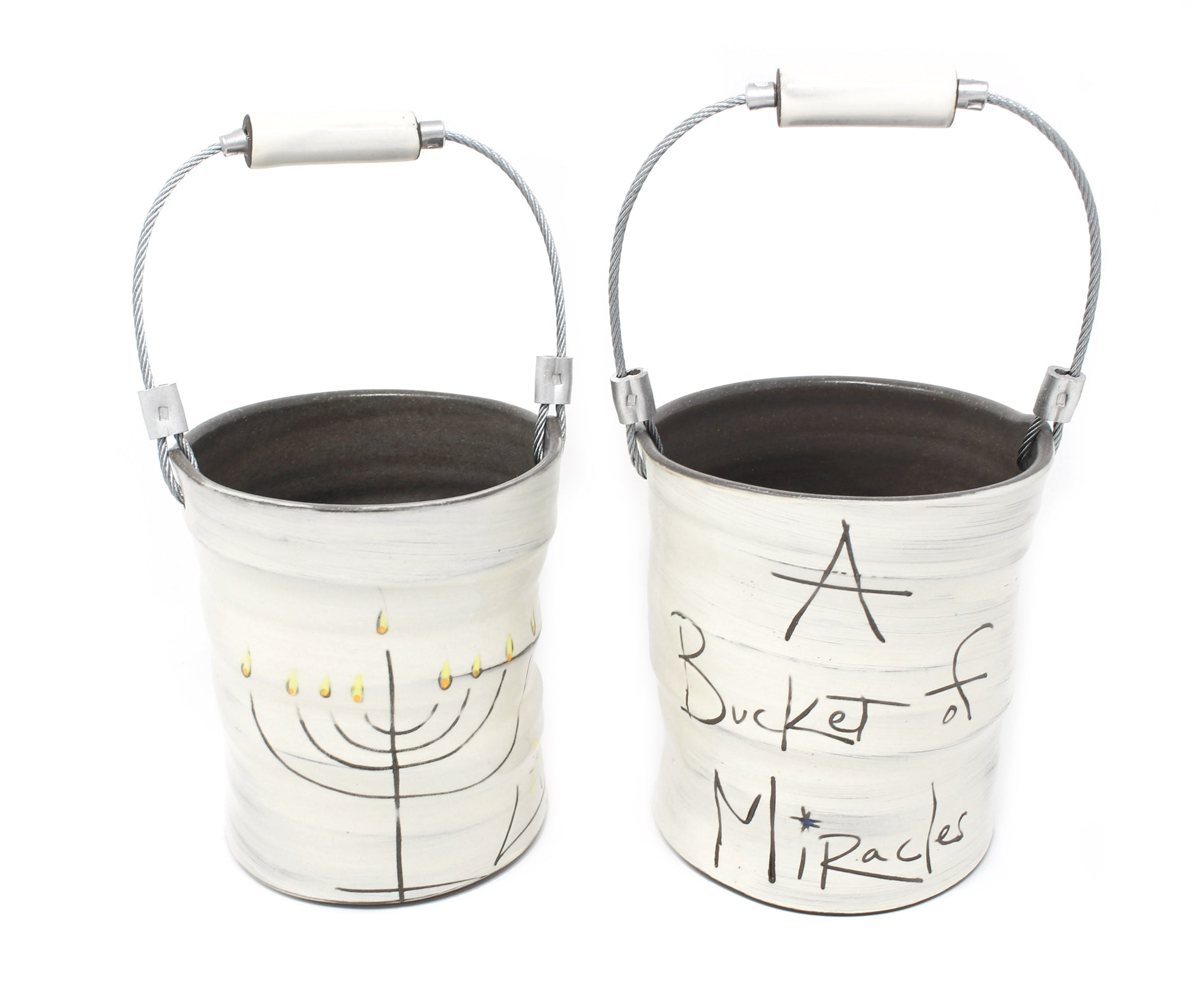 Small Chanukah Bucket by ZPOTS