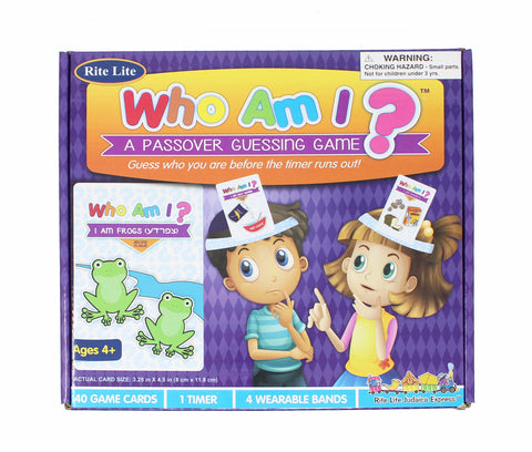 Who Am I? Passover Game