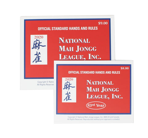 Mah Jongg Official Standard Hands and Rules - 2020