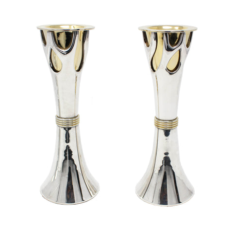 Tree of Life Candlesticks-8""