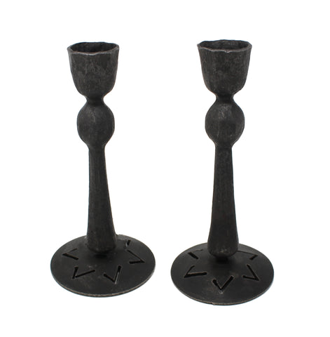 Candle Ball Candlesticks with Star Base