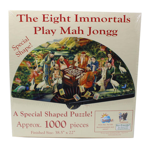 The Eight Immortals Play Mah Jongg