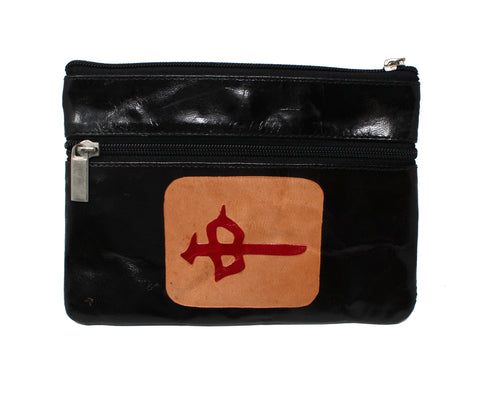 Leather Mah Jongg Purse