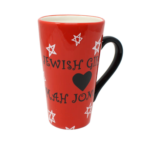 Jewish Girls Love Mah Jongg Mug