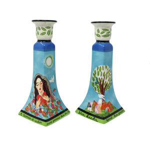 Woman of Valor Candlesticks