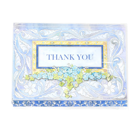 Package of 8 Condolence Thank You Cards