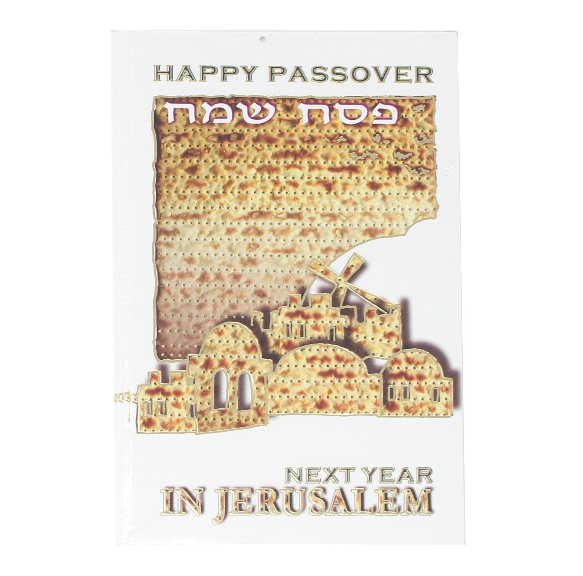Package of 5 Happy Passover Cards