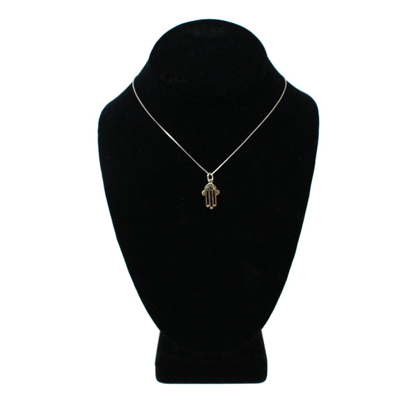Hamsa with Chain Necklace